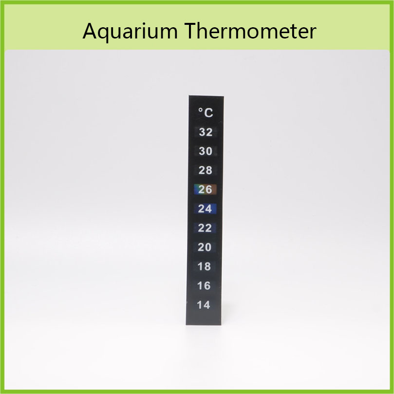 Popular Promotional Gifts Aquarium Accessories Liquid Crystal Thermometer Strips