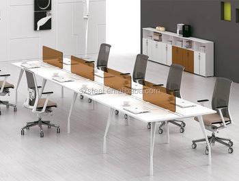 Sfs G Series Office Furniture 8people Modern Open Workstation
