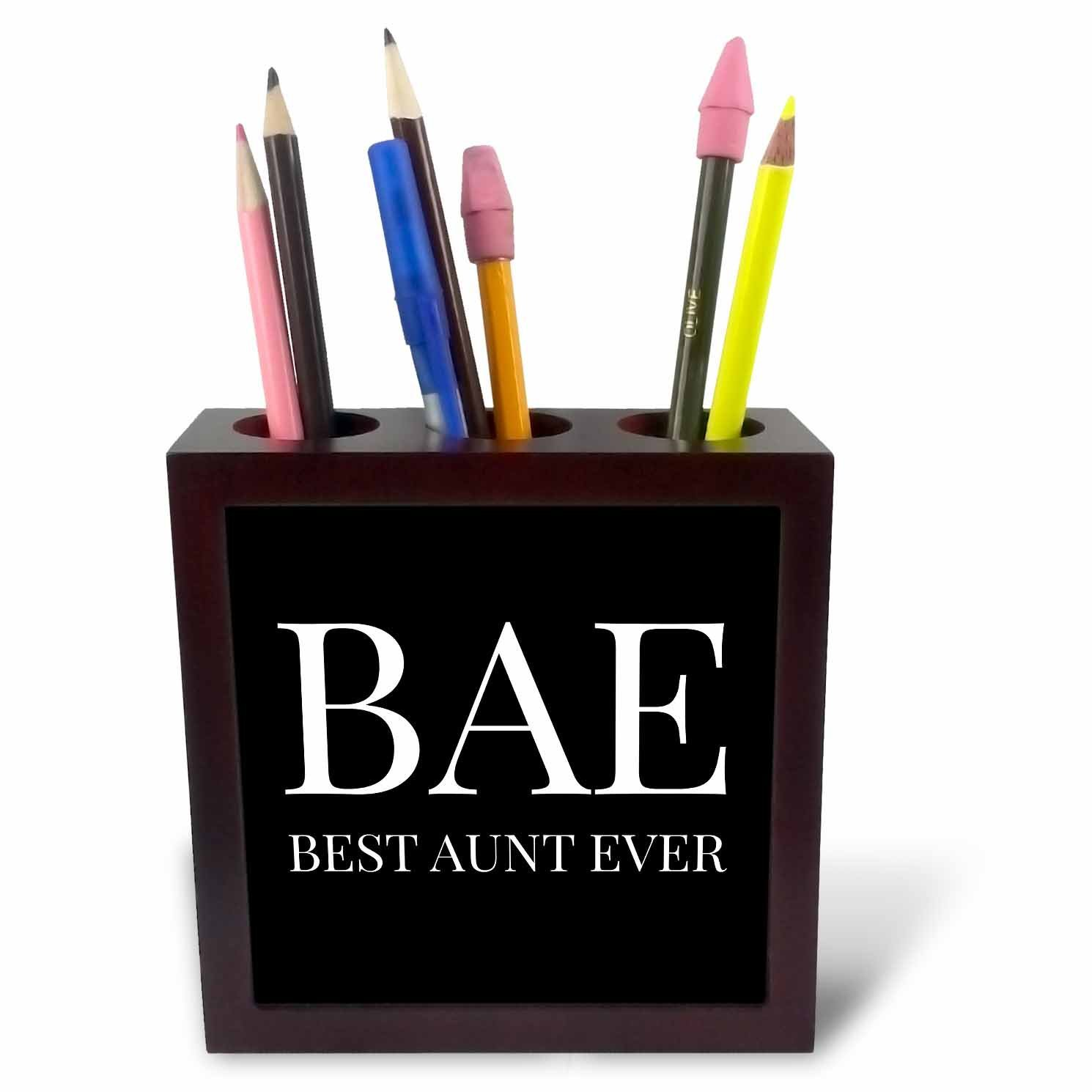 Buy Tb 245026 Xander Funny Quotes Bae Best Auntie Ever White