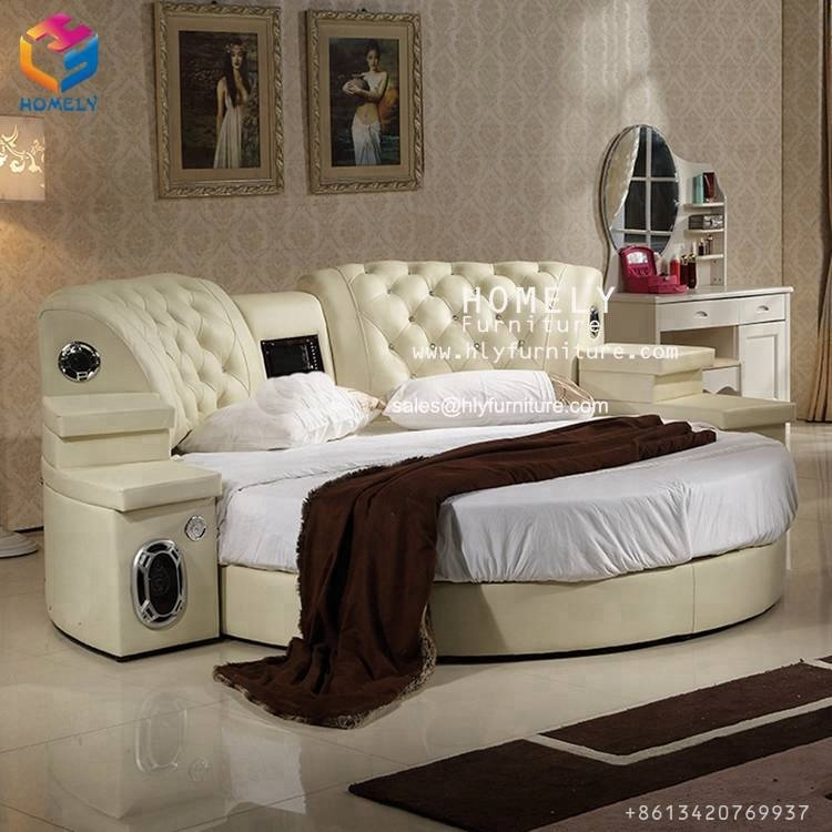 King Size Leather Be Princess Bed