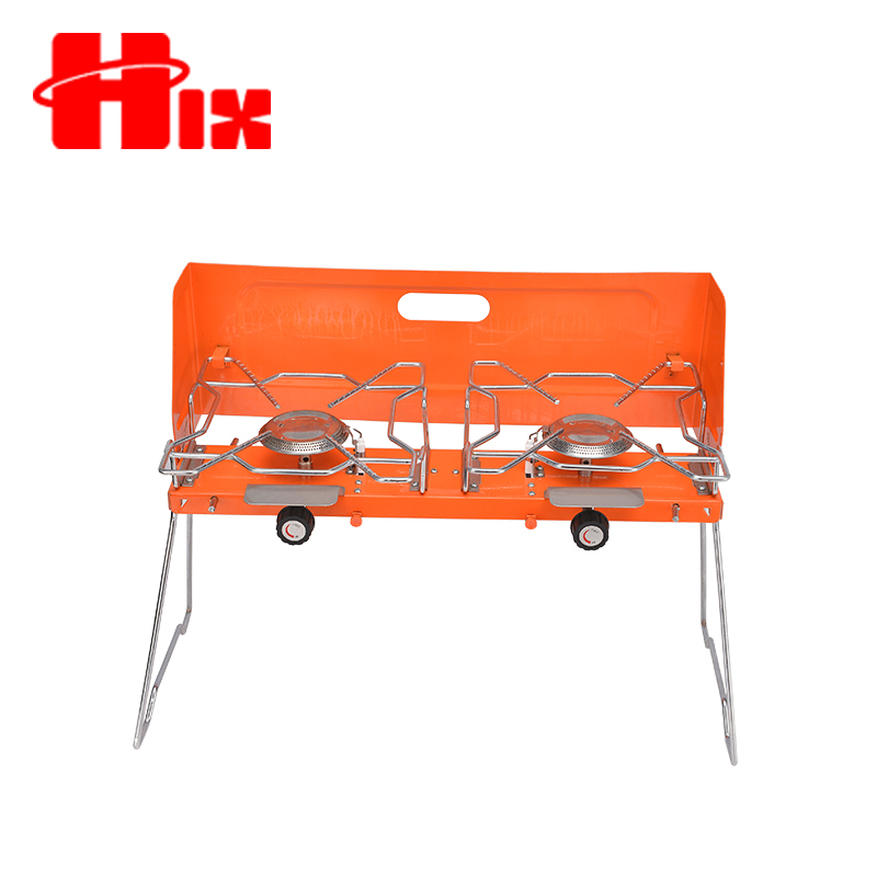 Convenient LPG bbq grill stand