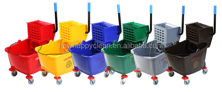 Square Small Mop Bucket With Wringer for home