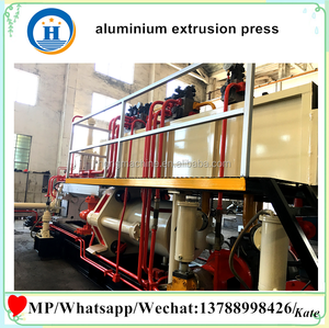 China aluminum machinery 850T, aluminium extrusion press machine