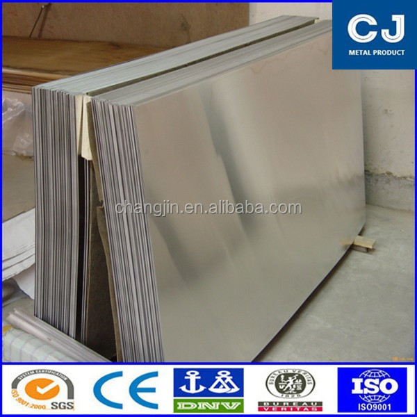 thin stamped flat sheet aluminum 4047 with hot rolling