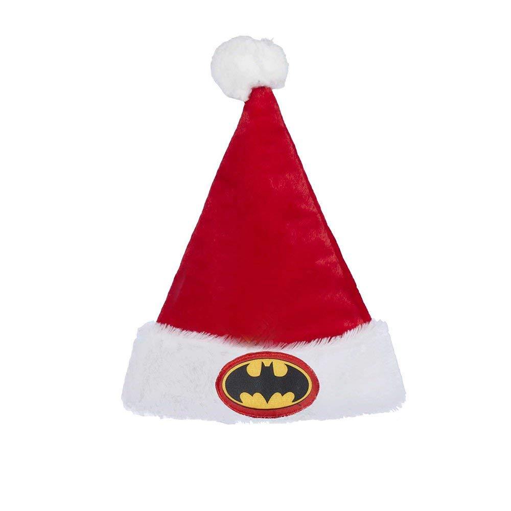 buy popular 857f6 fdf59 Get Quotations · Kurt Adler Batman Santa Hat
