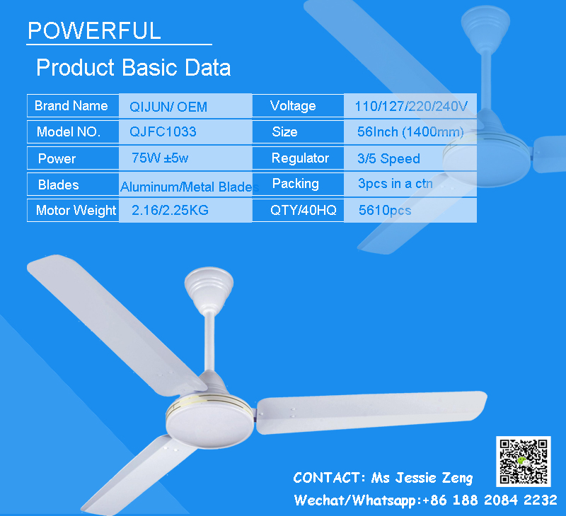 Focus brand of nice design with 3 aluminum blades for 56 inch focus brand of nice design with 3 aluminum blades for 56 inch industrial ceiling fan in aloadofball Choice Image