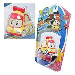 "Mini Robocar Poli 1 3/4"" Die Cast Korean Tv Animation Series Academy 83253 New"