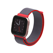 ODM Holdmi 30111 series 24 colors option dual clasp nylon miband3 watch strap for XIAOMI band 3
