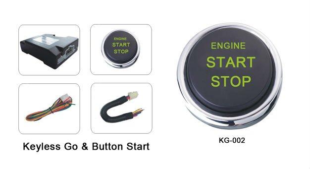 push button engin start stop keyless go system kg 002e. Black Bedroom Furniture Sets. Home Design Ideas