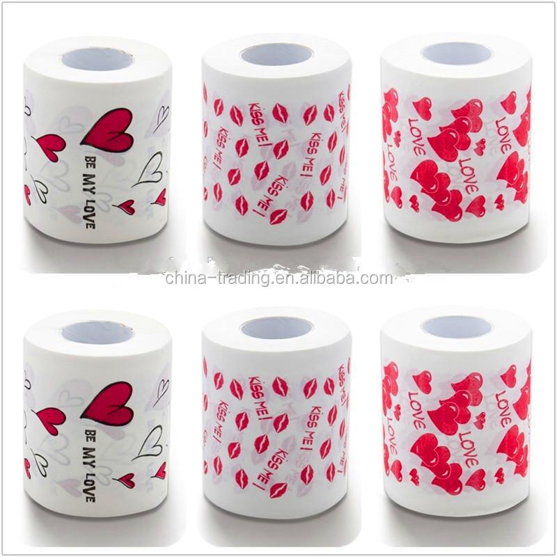 New Design Colored Toilet Paper