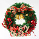 Best selling new designed 12v christmas wreath christmas grave decorations small wood ornaments