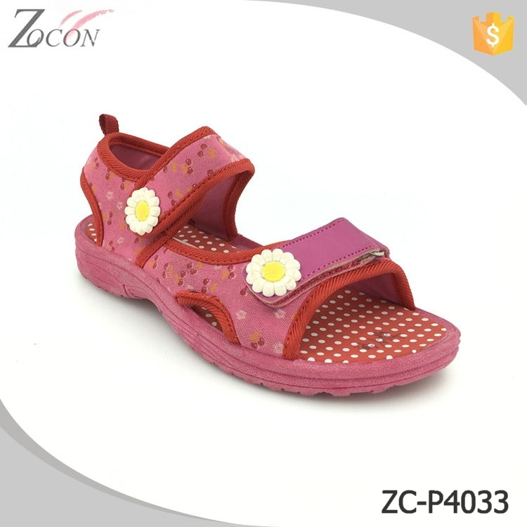China wholesale manufacturer latest exported children girls sandals