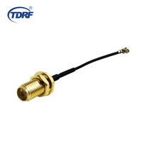 1.13mm RF Coaxial cable IPEX MHF U.FL to SMA female Hole Jack 5cm 2in 0-3Ghz