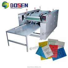 BEST SALE PRINTER PP WOVEN BAG PAPER BAG NONWOVEN FABRIC BAG 4 COLOR LOGO SMALL FLEXO PRINTING MACHINE