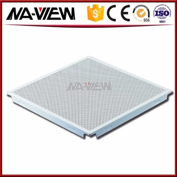 Fireproof Mirror Quality Ured Ceiling Tile