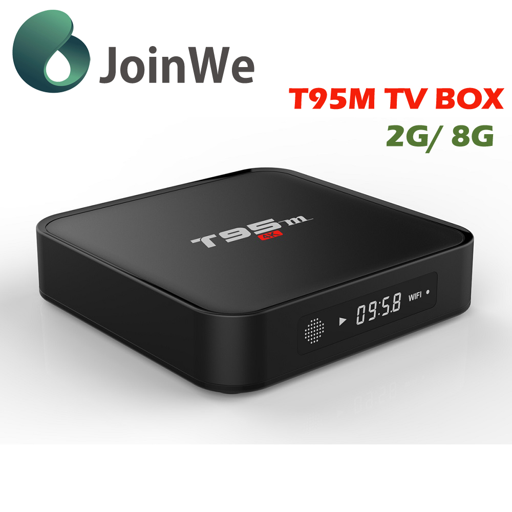 wholesale android 5.1 smart <strong>tv</strong> <strong>set</strong> <strong>top</strong> <strong>box</strong> 2g ram T95M streaming <strong>box</strong> kodi fully loaded