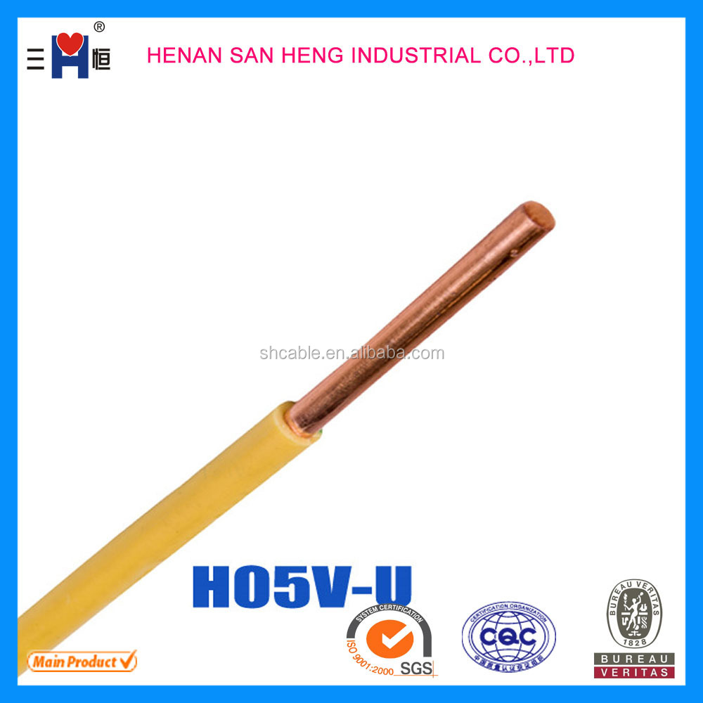 Copper Wire/Copper/PVC insulated anchor electric wire 450/750V 1.5 ...