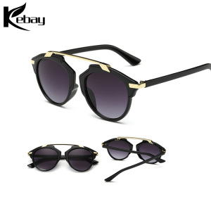 Custom Logo Print Plastic Frame Sunglasses Free Samples Sun Glasses UV400 Steampunk Sunglasses