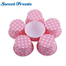 Sweettreats 50Pcs Retro Vintage Polka Dot Paper Cupcake Muffin Cases Baking Cups New