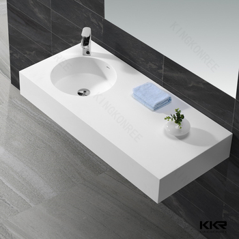 solid surface sanitary italian design bathroom hand wash basin