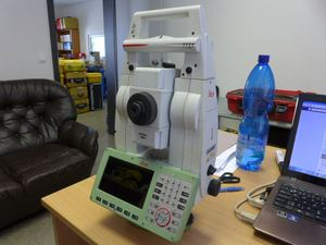 Used TS16P total station used 90% brand new