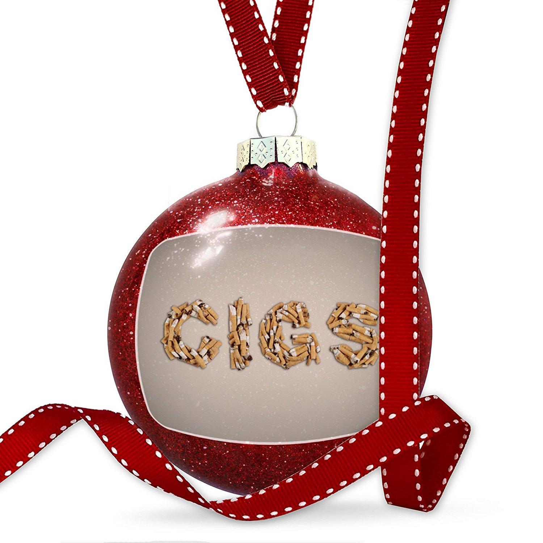 Christmas Decoration Cigs Smoking Cigarettes Ornament