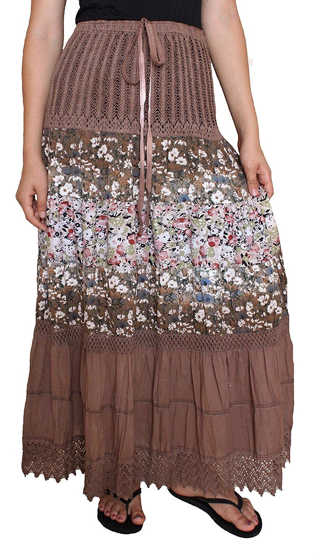 Speaking, advise brown straight skirt