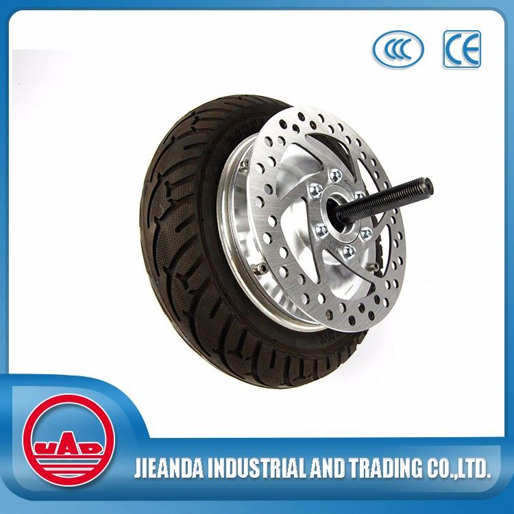 36v 500w brushless dc wheel hub motor for electric bicycle