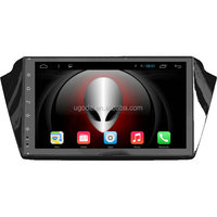 ugode 9 inch touch screen double din Wholesale auto radio for Skoda Fabia gps navigation 3G wifi