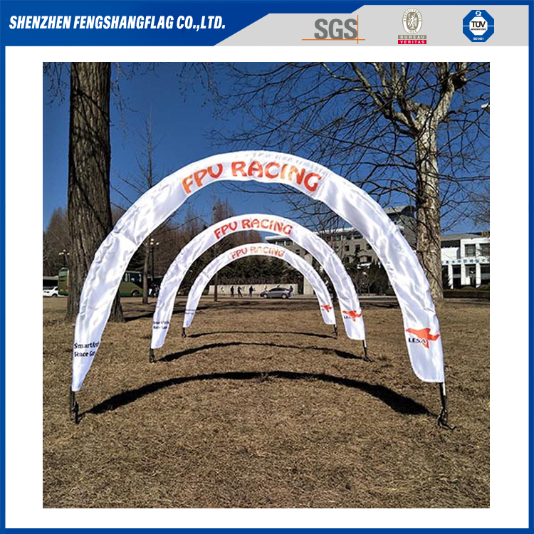 Drone UAV Competition Custom Fabric Pop Up Racing Gates FPV Race Gate