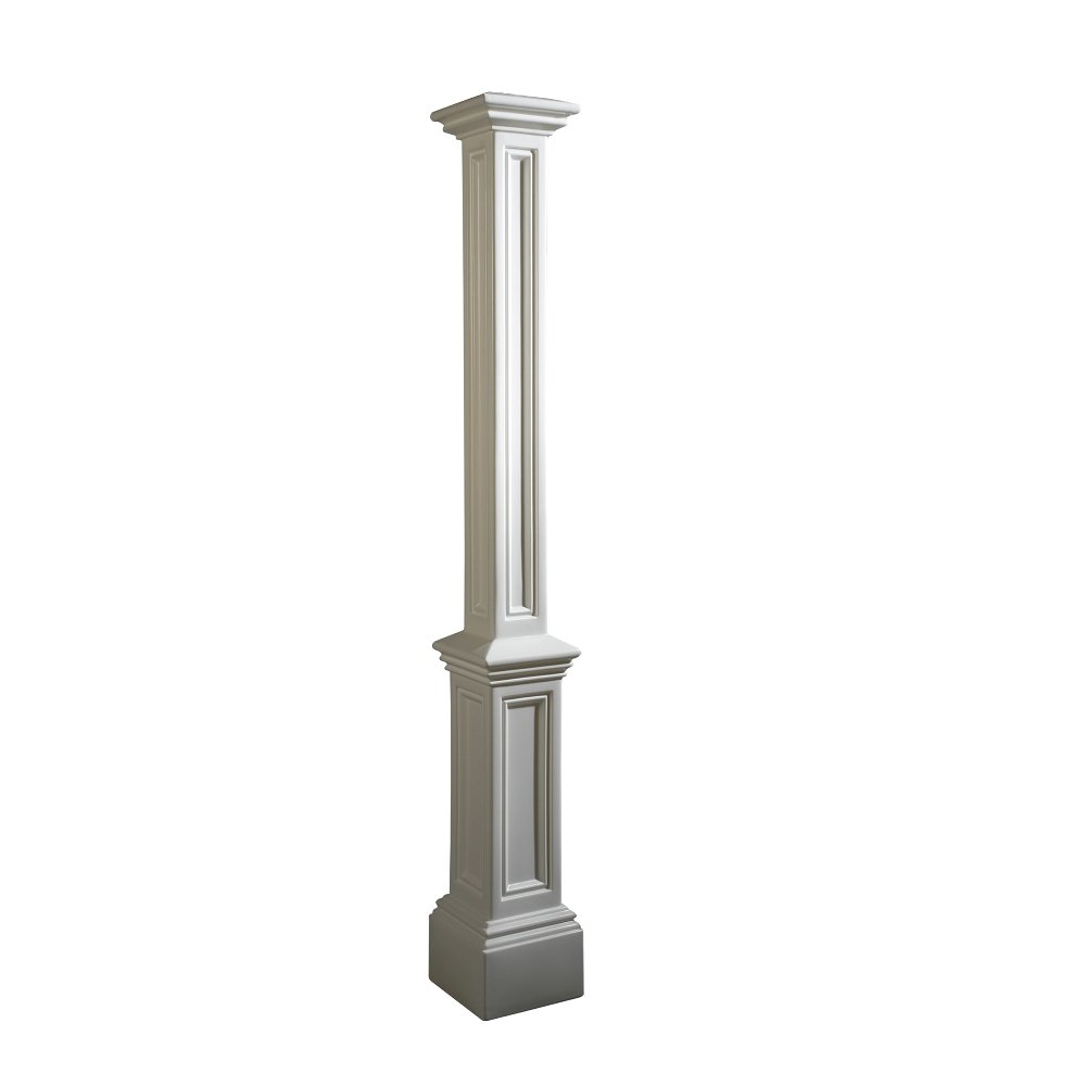 Mayne 5837-BK Signature Lamp Post Decorative Post Only