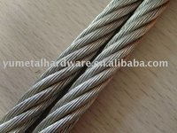 Galvanized Aircraft Cable 1x19