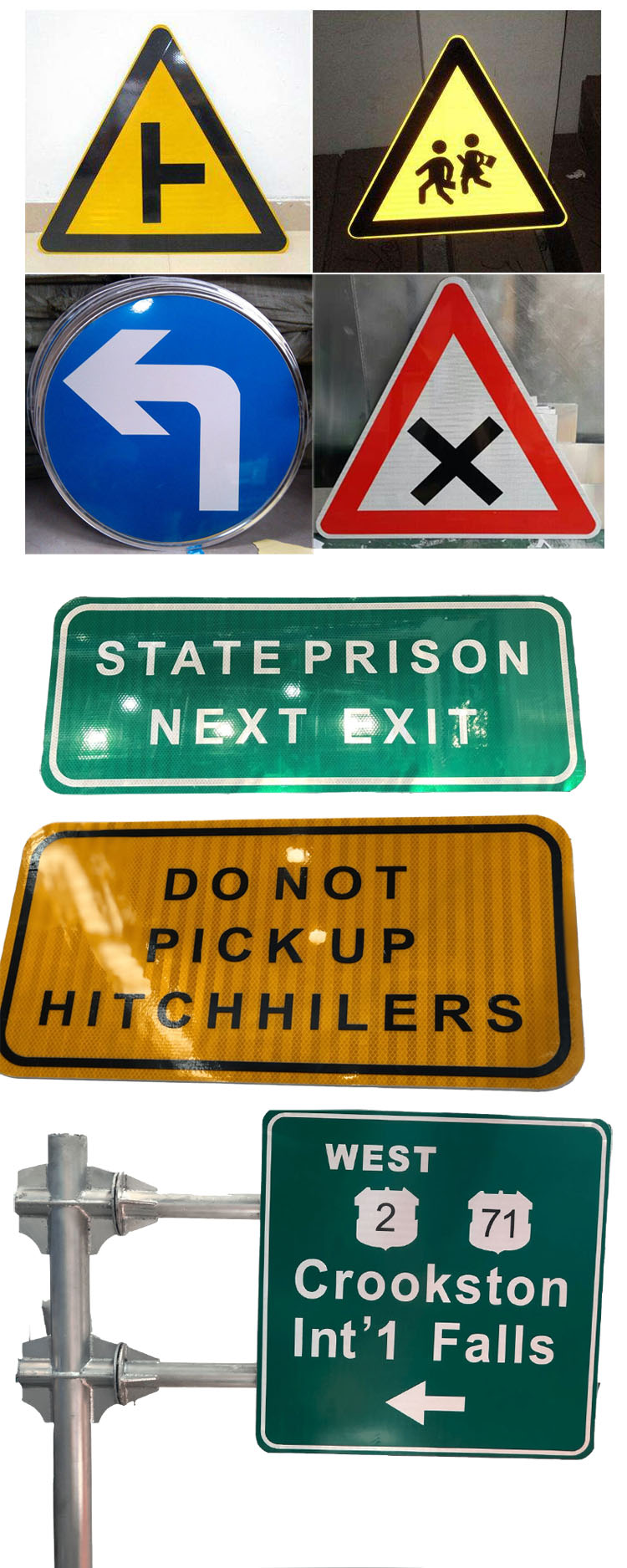 Pedestrian Crossing road signs for sale