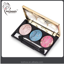 multicolor natural mineral high quality baked magic waterproof eyeshadow makeup