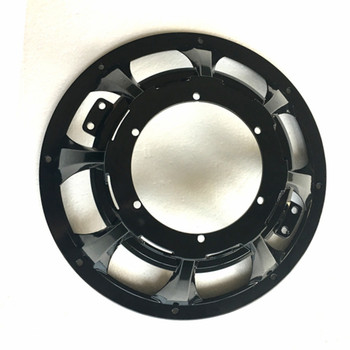 speaker12 car audio China supplier subwoofer parts with Black painting Aluminum basket for cars