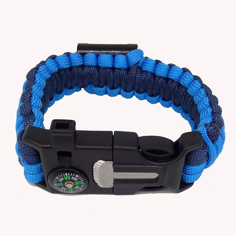 bracelet blue thin cop en product shop survival line paracord