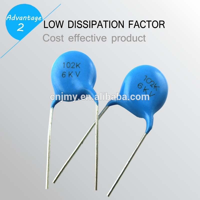 Wholesale Ceramic Dip Capacitor 102k 1kv Ceramic Disc