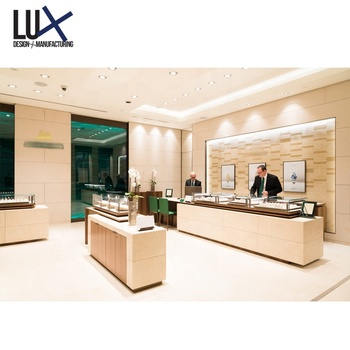 Jewelry Retail Store Display Counter Showcase