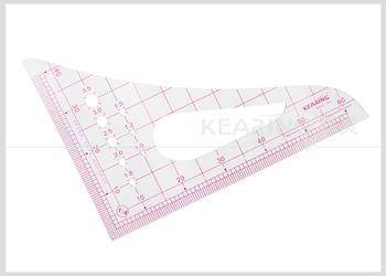 Kearing Brand1 2mmn Thick Sandwich Line Printing 1 4 Plastic Scale Ruler For Fashion Design Garment Measurement 8514 Buy Plastic Scale Ruler Sandwich Line Scale Ruler Architect Scale Ruler Product On Alibaba Com