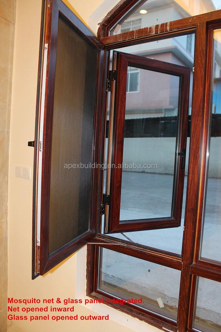 Arch Design Aluminum Casement Window Sliding Door French
