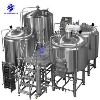 Three vessel brewhouse thit b nh my bia ngnh may