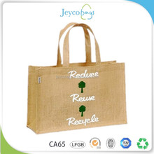 JEYCO BAGS Wholesale promotional organic jute shopping bag price India market