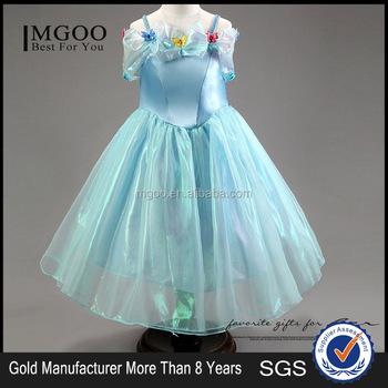 Mgoo Vente Chaude Cosplay Robe Pour Petite Fille Enfants Bébé Papillon Bleu Dessin Animé Fille Robes Tutu Robe 2015 Style D été Buy Robe De Bande