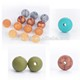 New Color Food Grade Round Beads Baby Chew Silicone Beads