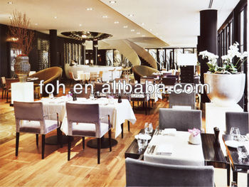5 Star Hotel Dining Table And Chair Hilton Hotels Furniture High End  Restaurant Furniture(FOH