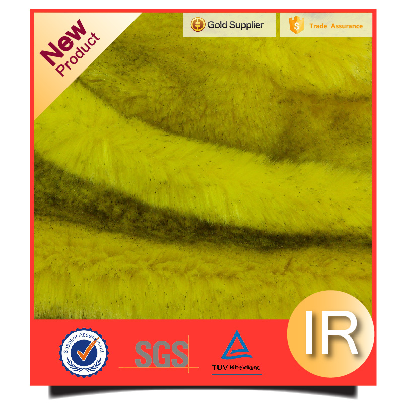 100%polyester BOA plush tip-dyed fake fur artificial faux fur fabric