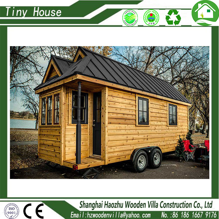 China popular modern prefabricated wood tiny houses movable