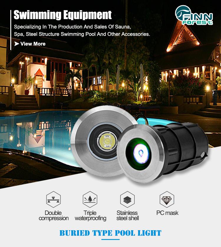 IP68 20W 12V Led Underwater Pool Light