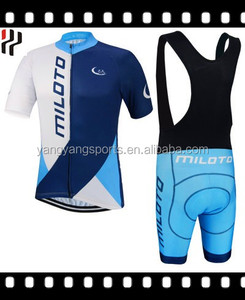 bike rider short sleeve cycling suit made of lycra