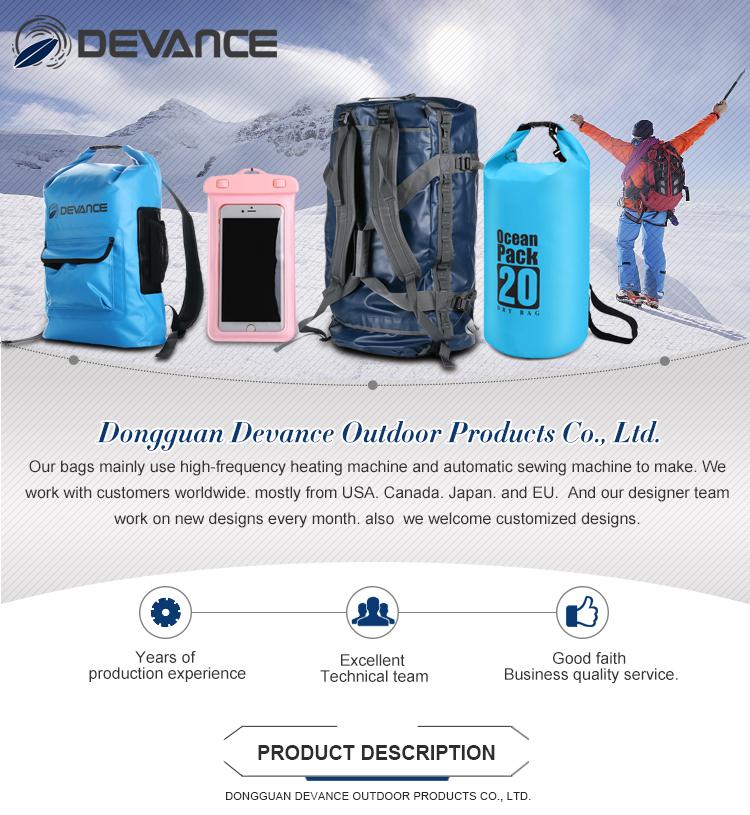 DEVANCE 70 L large black outdoor sport bag waterproof duffel gym bag